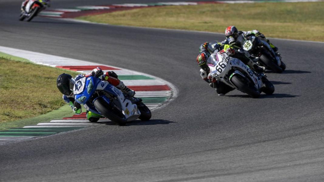 Moto Civ SS300: Carusi sul podio Tricolore al Mugello