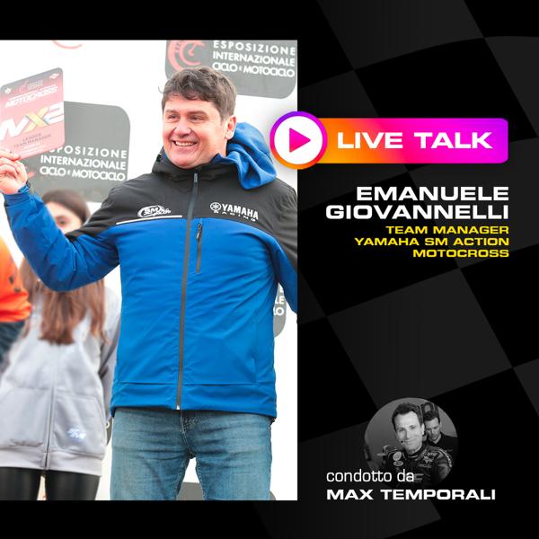 Altro BARDAHL PODCAST: EMANUELE GIOVANNELLI LIVE TALK