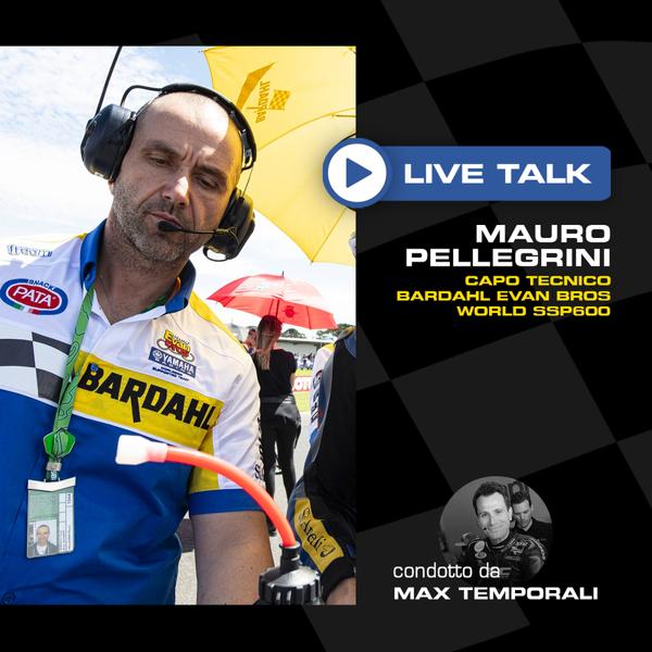 Altro BARDAHL PODCAST: MAURO PELLEGRINI LIVE TALK