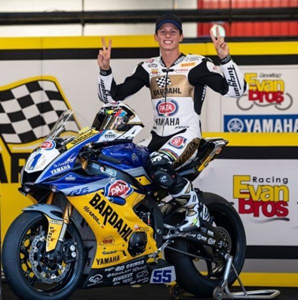 Moto Il Team Bardahl Evan Bros Campione del Mondo Super