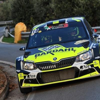 Auto Andrea Volpi nella top ten al Rallye Elba 2020