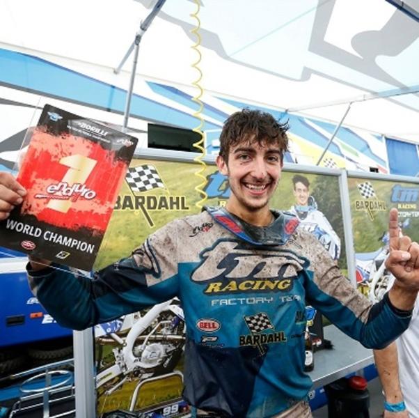 Moto Bardahl: Andrea Verona e TM Racing Campioni del Mo