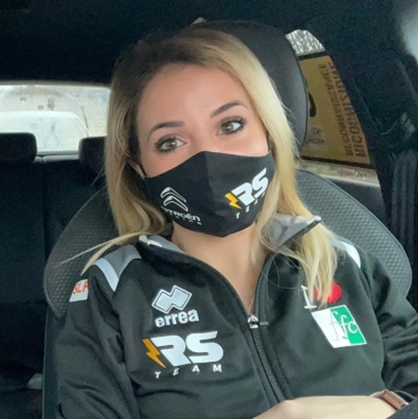 Auto Bardahl: Rachele Somaschini al via del Rally Monza