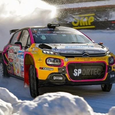 Auto Bardahl: Rachele Somaschini veloce anche sul ghiac