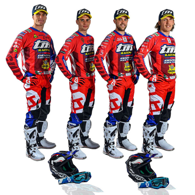 Moto Bardahl: presentato il TM Boano Factory Team Endur