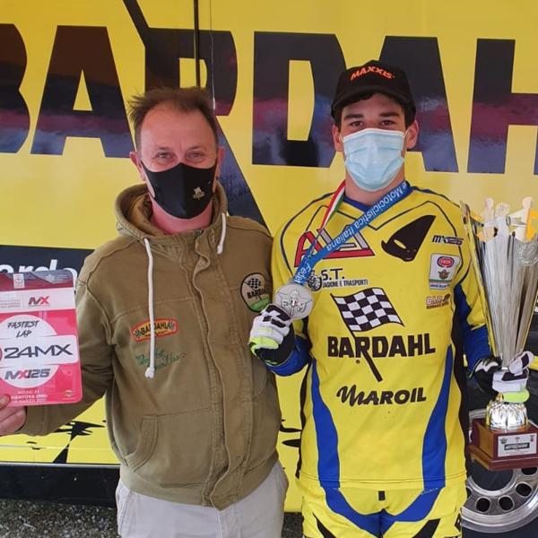 Moto Il Bardahl Junior Team Motocross vice campione 125