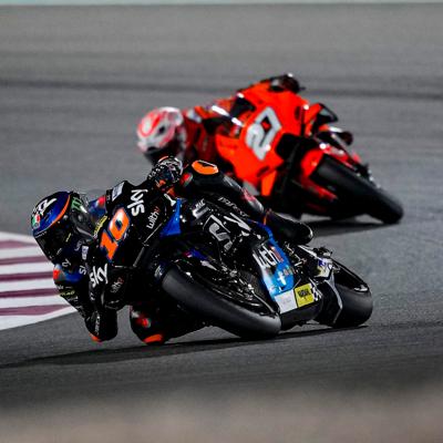 Moto Bardahl: Bezzecchi sfiora il podio in Moto2 nel pr