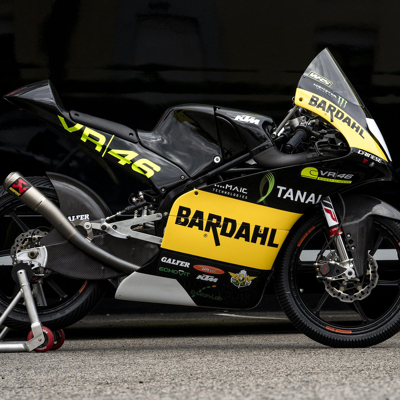 Moto Il Team Bardahl VR46 Riders Academy pronto a debut