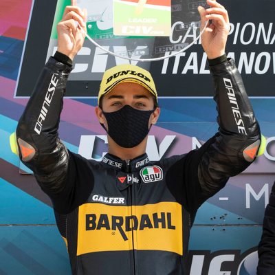 Moto Esordio al vertice per il Team Bardahl VR46 Riders