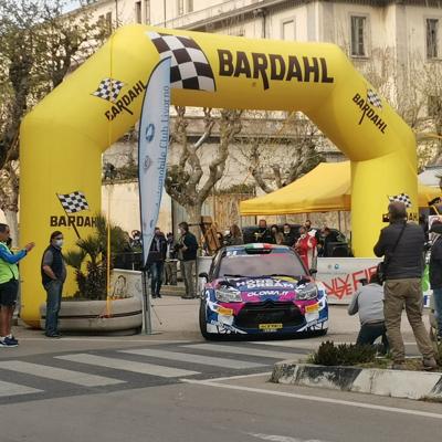 Auto Bardahl: Luca Pedersoli vince il 54° Rallye Elba