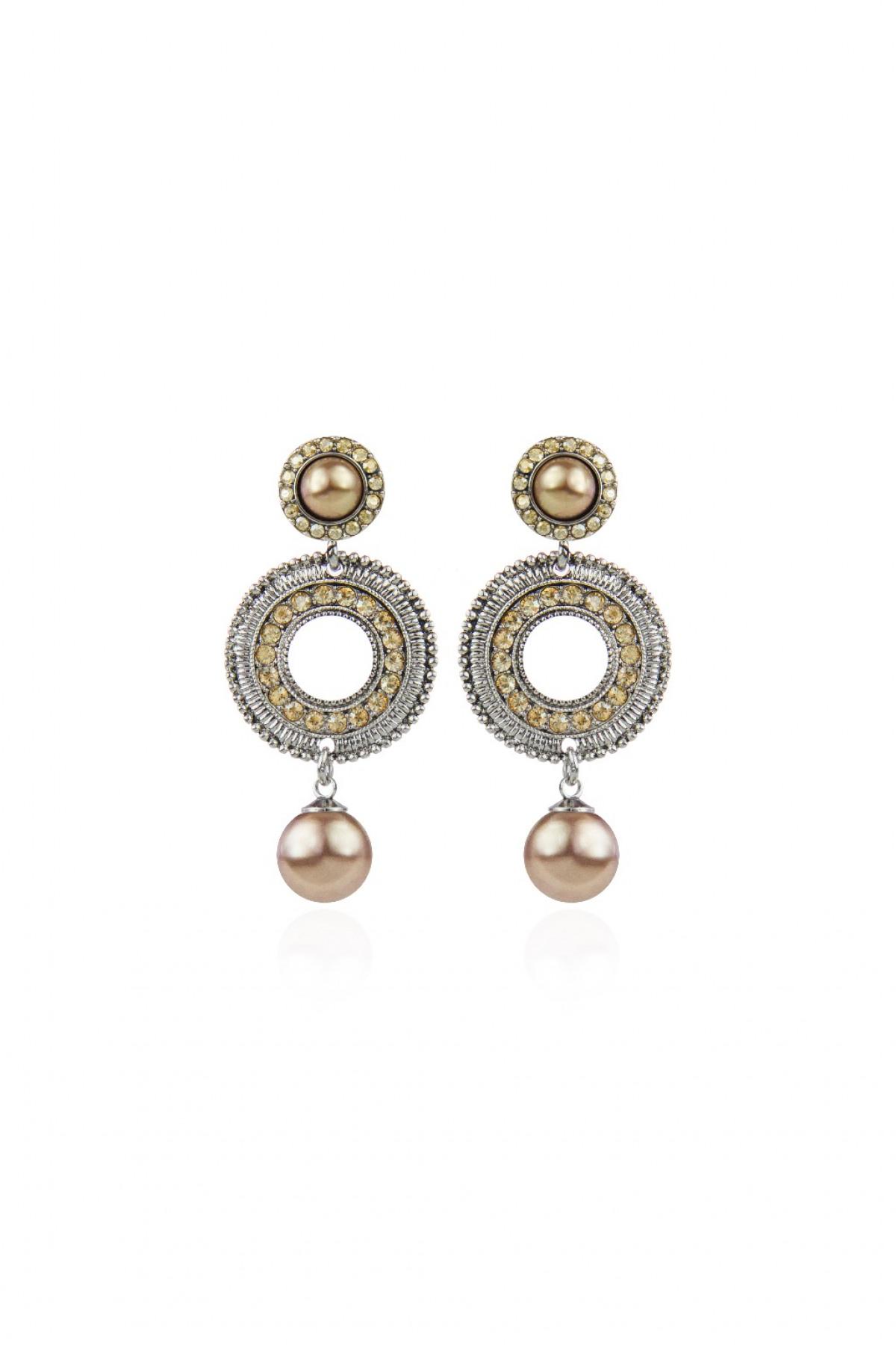 0f7a5937355f4c Maxi orecchini con perla Memphis - Sodini   Creatività e innovazione ...