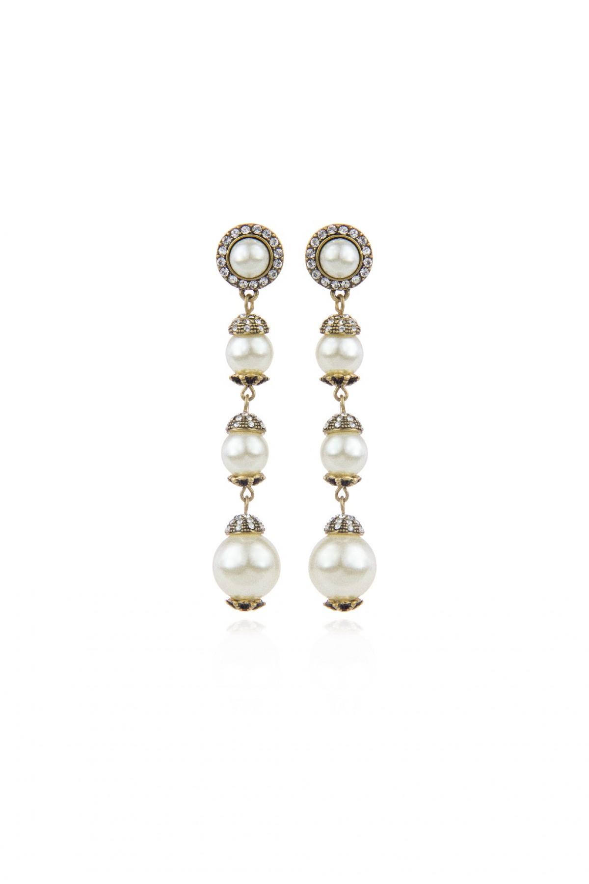 c53493a80a0e9d Orecchini pendenti con perle Memphis - Sodini   Creatività e ...