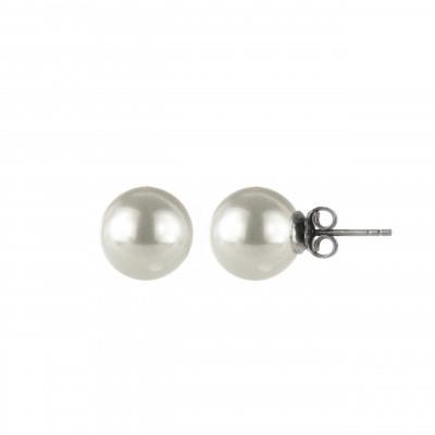 Orecchini con grande perla Pearl
