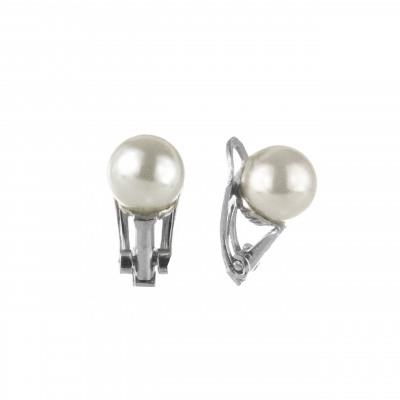 Orecchini a clip con perla Pearl