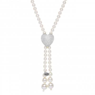 Collana di perle a Y Pearl