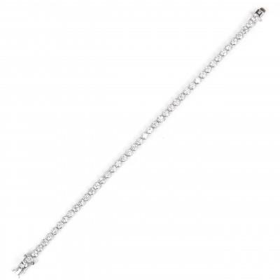 Bracciale di zirconi Pearl