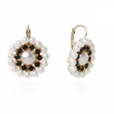 Orecchini fiore di perle Audrey