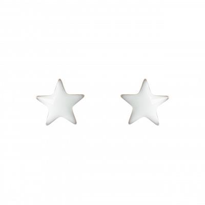 Orecchini a stella colorata Vulcano