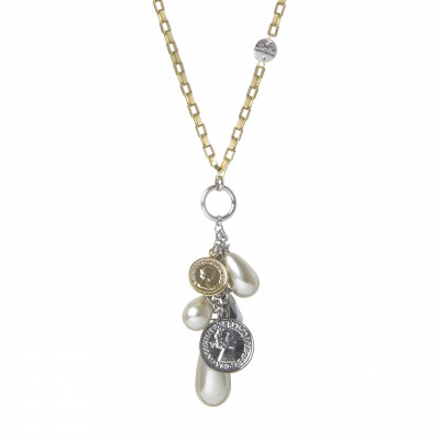 Collana con charms Money