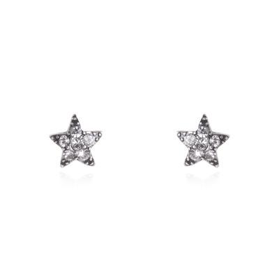 Piccoli orecchini a stella Stardust