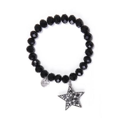 Bracciale elastico con stella Stardust