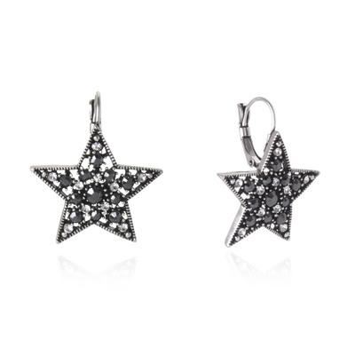 Orecchini stella brillante Stardust