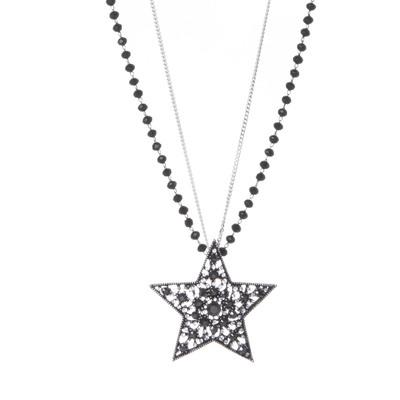 Collana a doppio filo Stardust