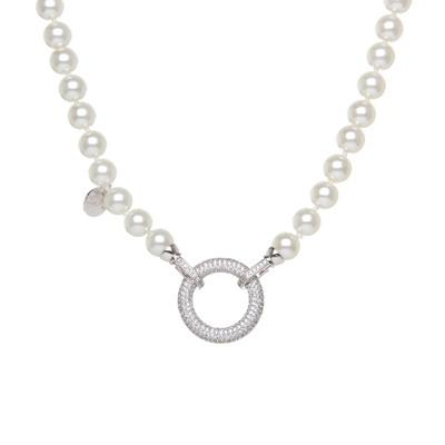 Collana di perle con anello Pearl