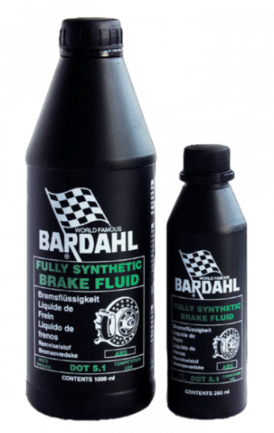 Bardahl FULLY SYNTHETIC BRAKE FLUID DOT 5.1