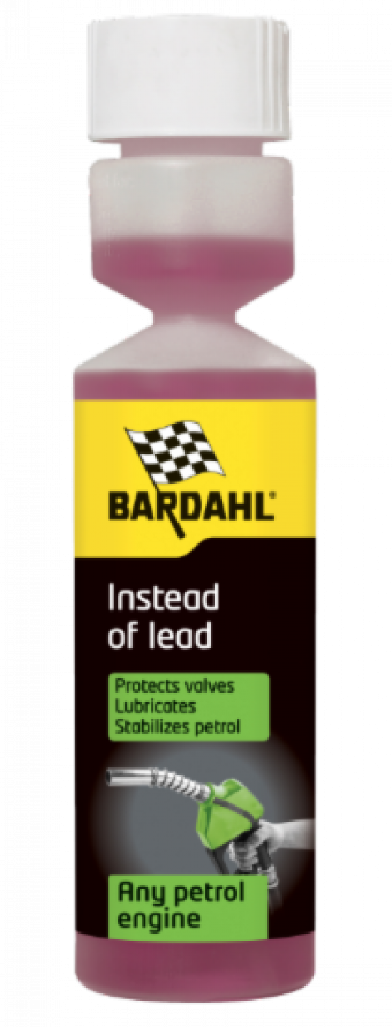 Bardahl INSTEAD OF LEAD