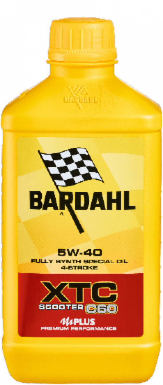 Bardahl XTC C60 SCOOTER 5W-40